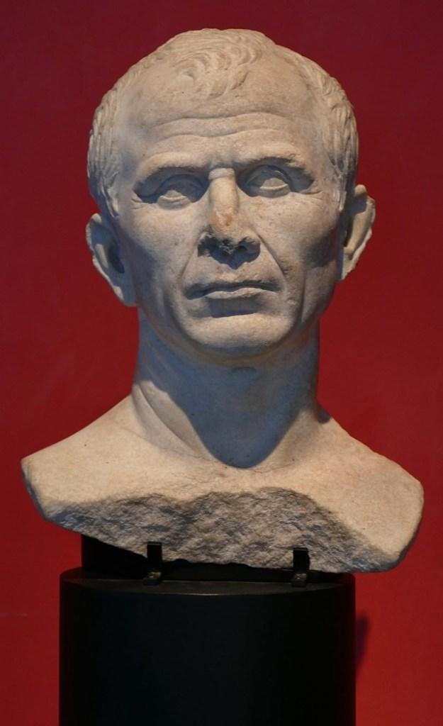Gaius Julius Caesar Bust - When did Julius Caesar die? (FlyIntoBooks.com)