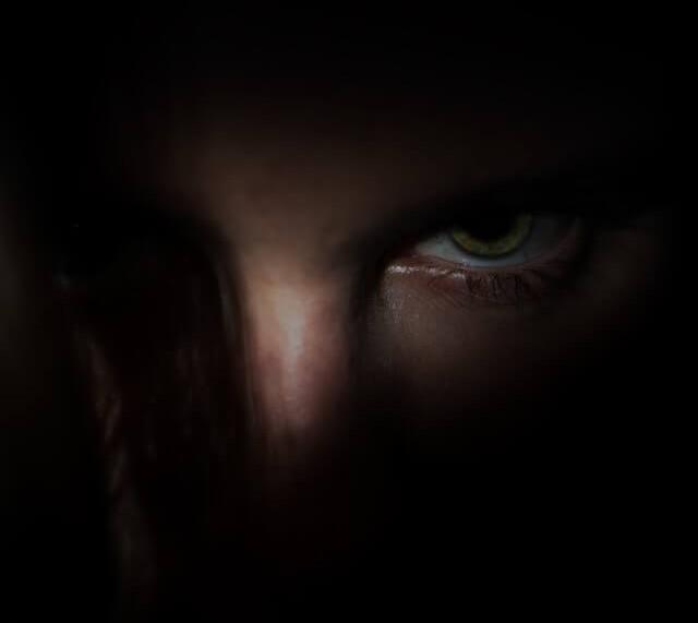 guilty feelings - the girl's eyes