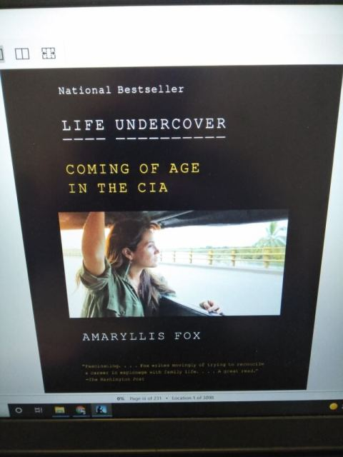Life Undercover by Amaryllis Fox book cover