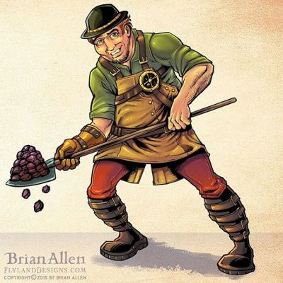 This was a steampunk character design concept I worked on for Bogard Press - used in their educational book series and other marketing materials.  I'd really love to get stronger with character design and pursue that direction some more.#art #illustration #steampunk #characterdesign #freelance #FlylandDesigns New Artwork From Instagram