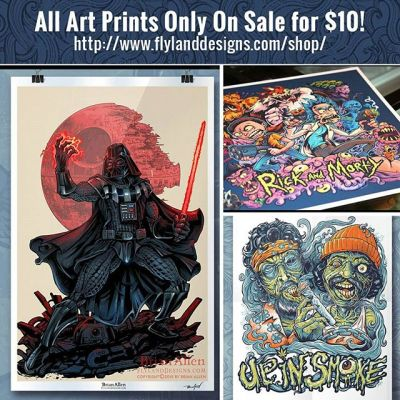 I'm trying to clean out all my old art prints to make room for a bunch of new stuff this year, so I'm selling all of them for only $10 each for the rest of the year.  All art prints are signed by me and hugged for 30 seconds.  Thanks to all who've already picked one up, I sincerely appreciate it!https://www.flylanddesigns.com/shop/#art #prints #brianallen #sale #capitalism New Artwork From Instagram