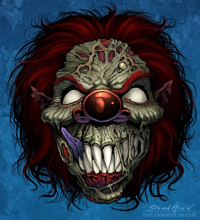 Evil-Clown for motorcycle graphics