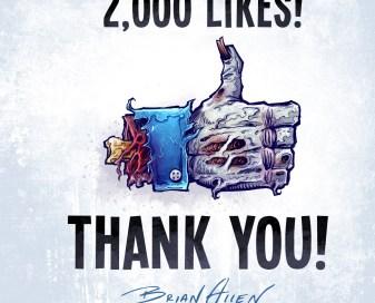 Zombie Facebook Hand
