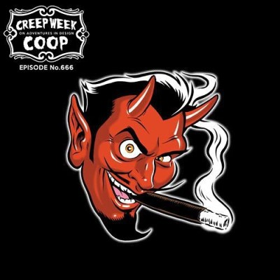 Can't wait to listen to this - One of my favorite artists, on one of my favorite Podcasts - '666 - COOP - Creep Week 2017 - Chapter II' is now available on SoundCloud from Adventures In Design with Mark Brickey. #coopart @aidpodcast #aid #art