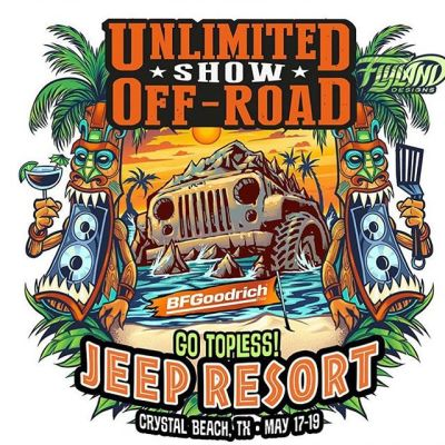 Anyone familiar with the Unlimited Off-Road shows that happen across the US? I got to design their logo for the Crystal Beach event in Texas - really nice and fun guys who run this thing. Always fun to explore totally new industries as a freelancer and learn the culture.#logodesign #logodesigner #logoconcept #logoart #logoinspiration #jeeplife #atv #unlimitedoffroad
