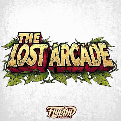 Fun text design I created for The Lost Arcade, a website specializing in retro arcade games.  We wanted something that looked hand-drawn, and looked like it could be printed on the cabinet of an old game.#arcade #arcadeart#logodesign #logodesigner #logoconcept #logoart #logoinspiration