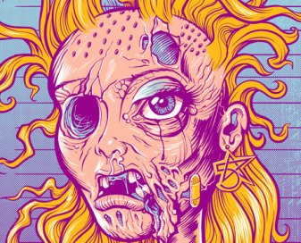 Meth Head Barbie T-Shirt Design