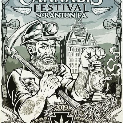 Poster design for the Pennsylvania Cannabis Festival I created. Here are the inks, drawn in Clip Studio Paint with a Wacom Cintiq - ready for color. Scranton has a rich history in mining and power generation, so we thought it would be cool to draw a Cannabis Miner, holding a lantern transformed into a bong.I'll be at the convention this weekend, anyone planning on coming?@penncannafest #legalizePA #electriccity #penncannafest#cannabisart #marijuanaartist #cannabiscommunity