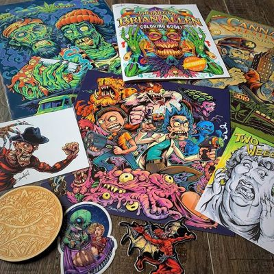 Packing up everything for the festival this weekend, here's some of the stuff I'll be peddling. Also in my shop. PM me if you see anything you want!PA Cannabis Festival at beautiful Nay Aug Park, Scranton PA tomorrow, April 20 from 9AM-8PM. Tons of live music, food, art. Rain or shine, please come out and say hey.@penncannafest #legalizePA #electriccity #penncannafest#cannabisart #marijuanaartist #cannabiscommunity
