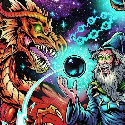 Happy to be working on some pinball stuff! Wizard and dragon epic face off I finished coloring today. More to come soon, thanks for looking!#art #pinballart #fantasyart #fantasyartwork #wizardry #artwork #wacomcintiq