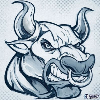 Bull mascot I'm working on for a client that I liked the look of. Drawn in Clip Studio Paint with some of my custom pencil brushes.#wip #bull #mascot #mascotdesign #clipstudiopaint #pencilsketch