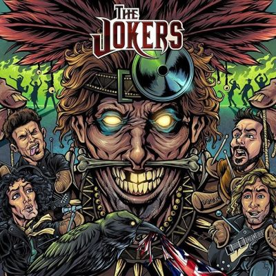 Album cover I created for the Jokers in the UK. The band wanted me to draw the members of the band as little voodoo dolls for their new album, VooDoo. Always a pleasure working with these guys!#thejokers #voodoo #witchdoctor #albumcover #albumart #merchdesign #musicart #albumdesign #heavymetal #rockmusic