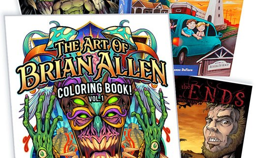 Books and Coloring Books