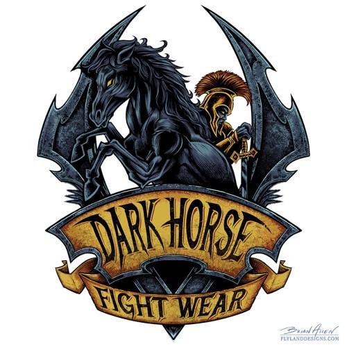 MMA Fightwear Logo Design