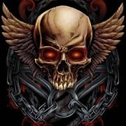 Skull T-Shirt Design for MMA Apparel Brand
