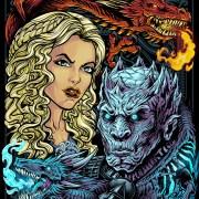 Game of Thrones Bam Box Illustra