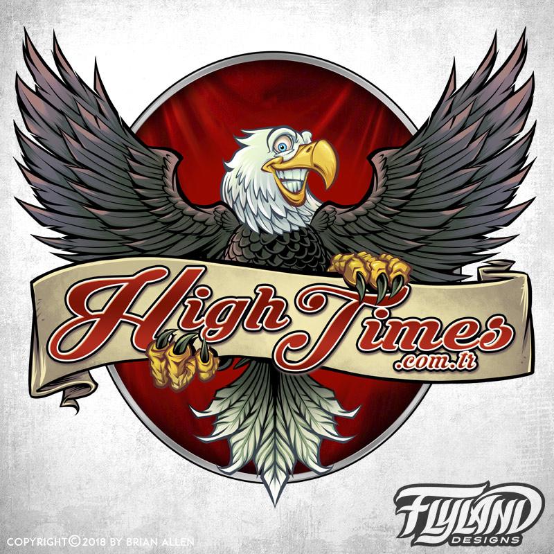 Logo of a pro marijuana eagle ma