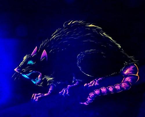 blacklight rat