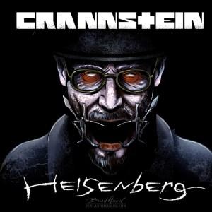 Illustration of Heisenberg from Breaking Bad in a Rammstein album cover parody