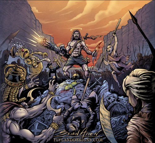 Killing For Christ CD Cover