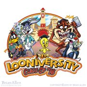 Looney tunes parody drawn for Ru