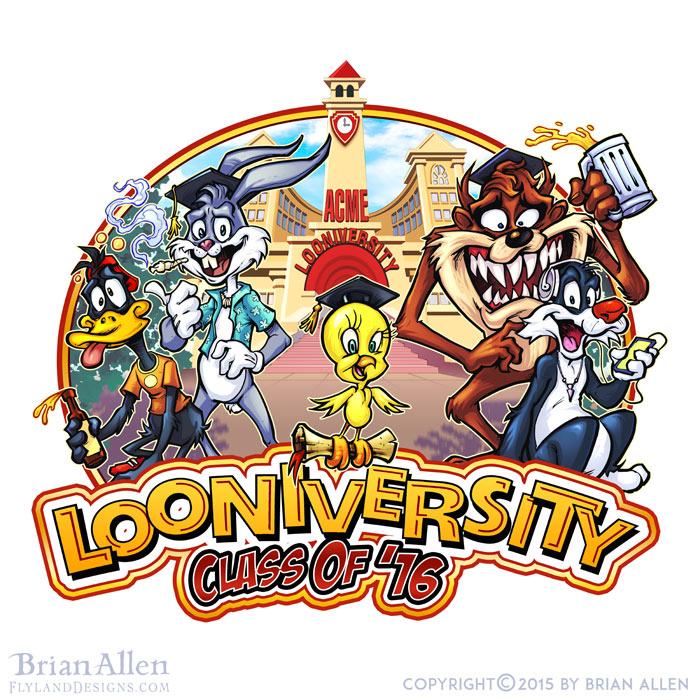 Looney tunes parody drawn for Ru