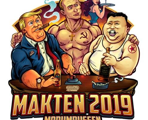 Trump, Putin, Kim Jun Un hanging