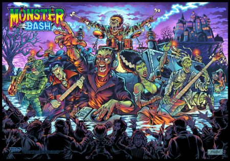 Monster Bash Translite alternative