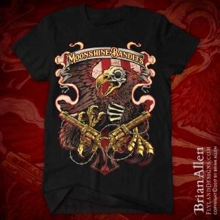 Moonshine Bandits Skeleton Eagle