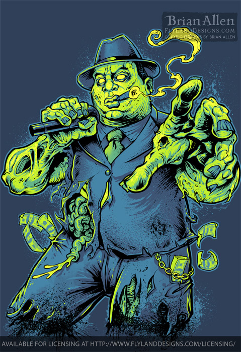 Notorious BIG Zombie
