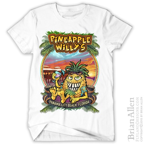 T-Shirt Design Illustrator | Freelance Illustrator Brian Allen