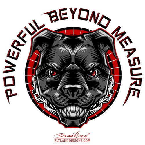 Pitbull Logo Design
