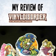 Review of Vinyl Disorder custom stickers