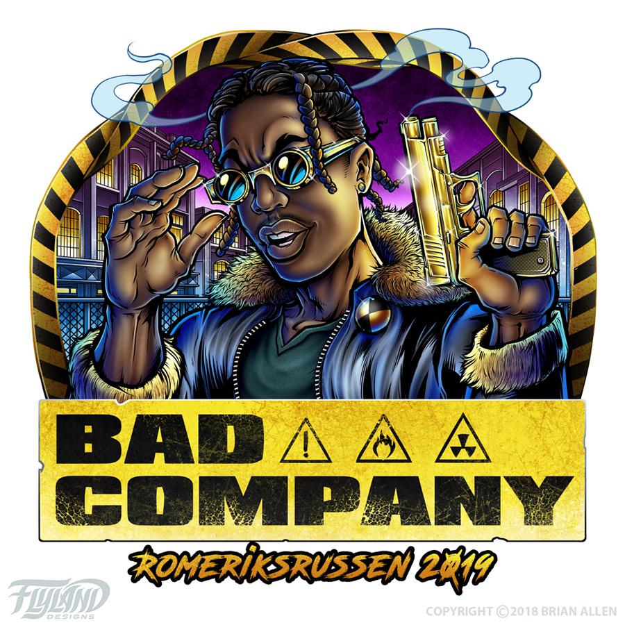Russ logo design I illustrated o