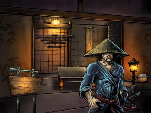 Samauri Character for ipad game