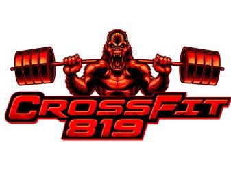 CrossFit Gorilla Logo Illustration