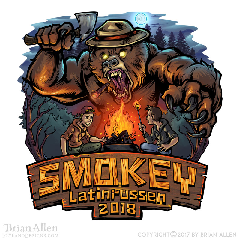 Smokey the Bear is fed-up with n