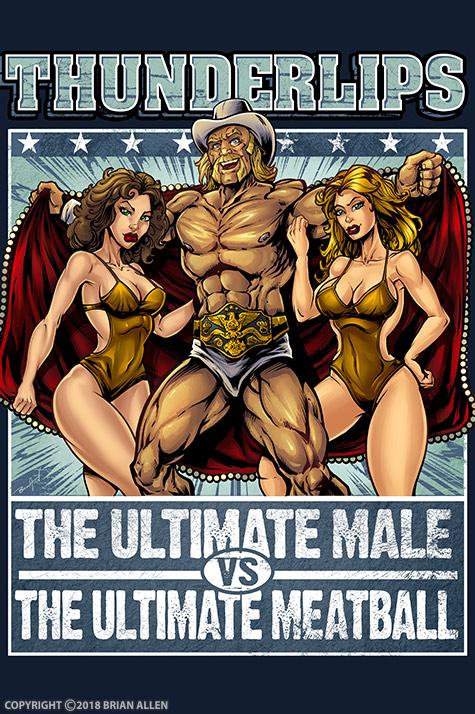 Illustration of Hulk Hogan as Th