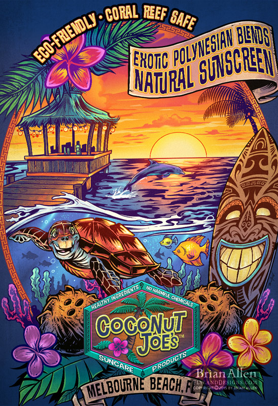 Coconut Joe's hired me to upda