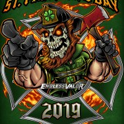 St Patricks Day Firefighter 2019