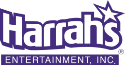 Harrah's logo with hyperlink to the casino's website