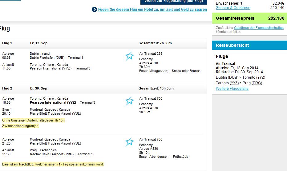 Air Transat Flight To London From Toronto Best