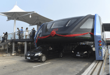 china new electric bus