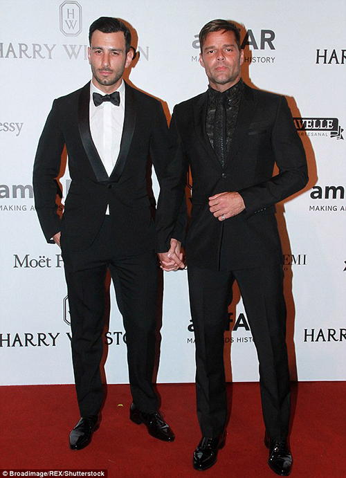 ricky martin with jawen
