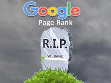 Google Page Rank Dead