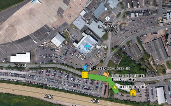 Flyparks Official Website Exeter Airport Parking Cheap