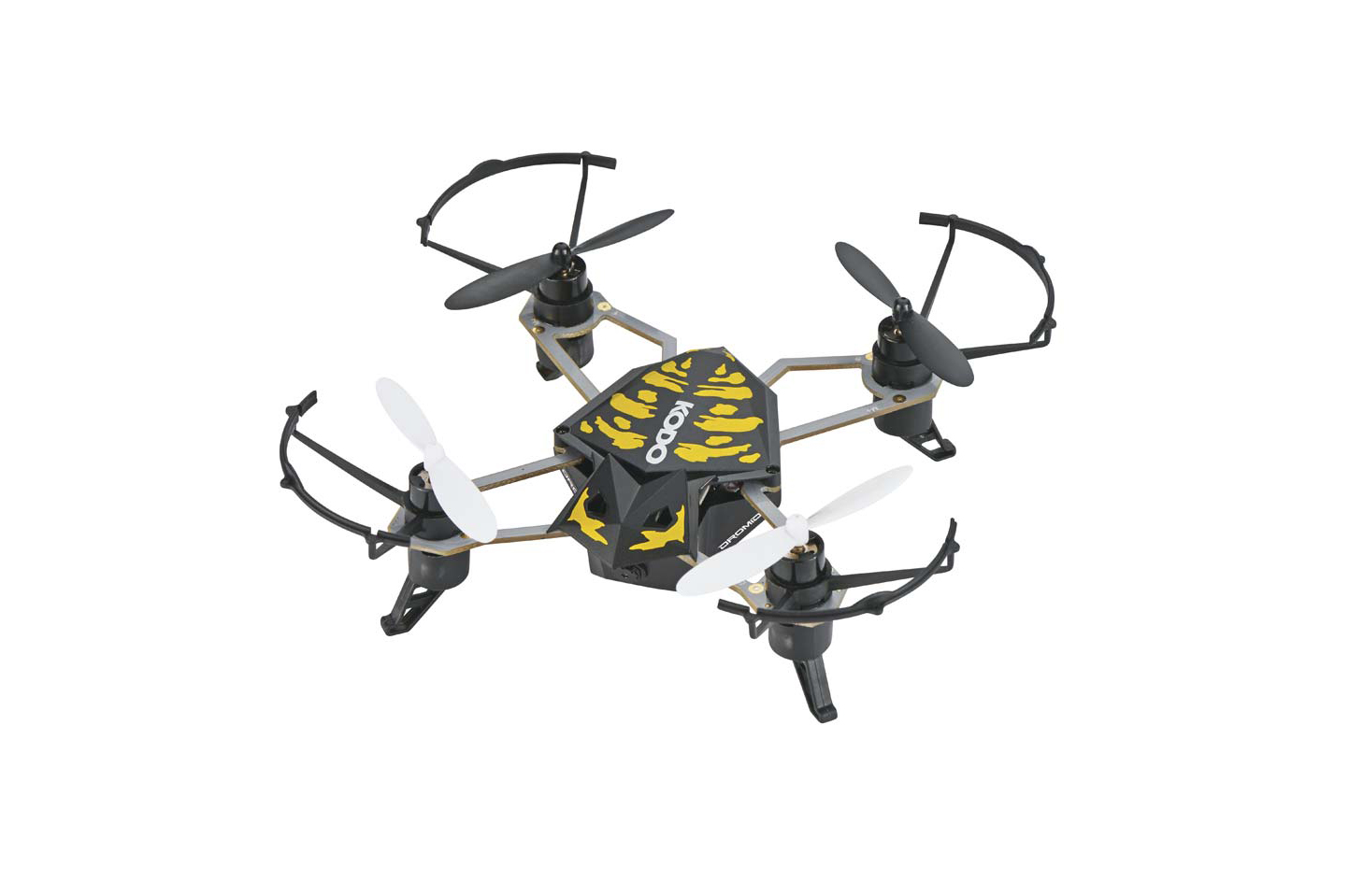 Quad Blade Helicopter