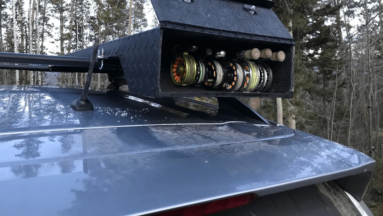 the ultimate rod case vehicle mounted