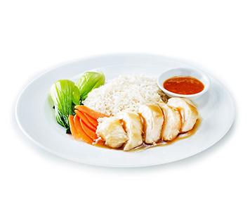 Image result for Singapore chicken rice can be found at almost every