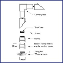Parts Of A Window Frame Diagram Appendicular Skeleton Quiz Magnetic Fly Screen For Windows